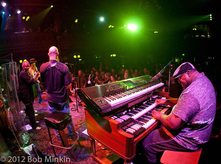 Melvin Seals and JGB at the Great American Music Hall