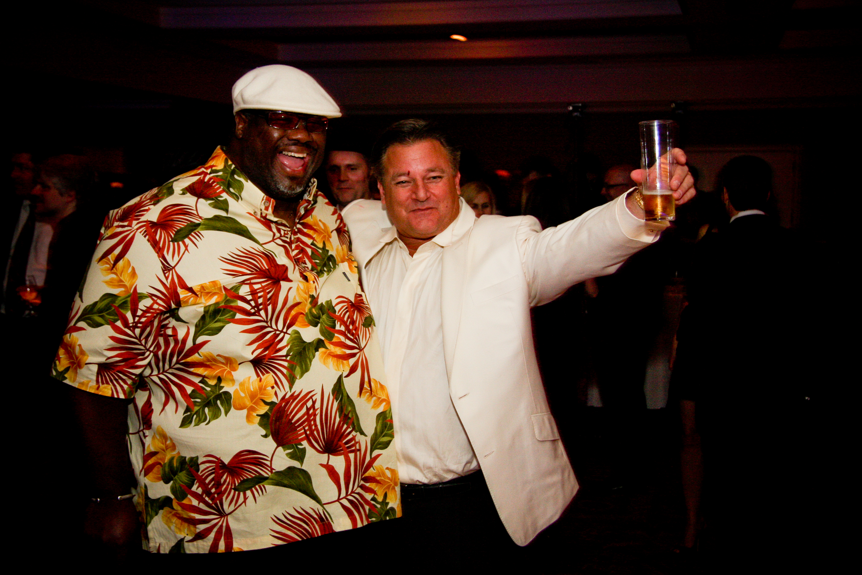 Melvin Seal and Vince
